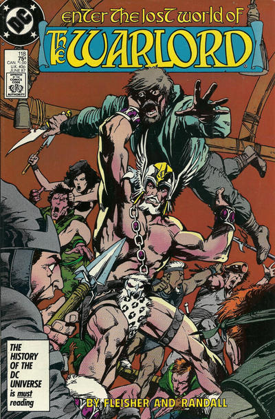 Cover for Warlord (DC, 1976 series) #118