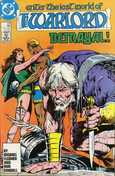 Cover for Warlord (DC, 1976 series) #119 [Direct Sales]
