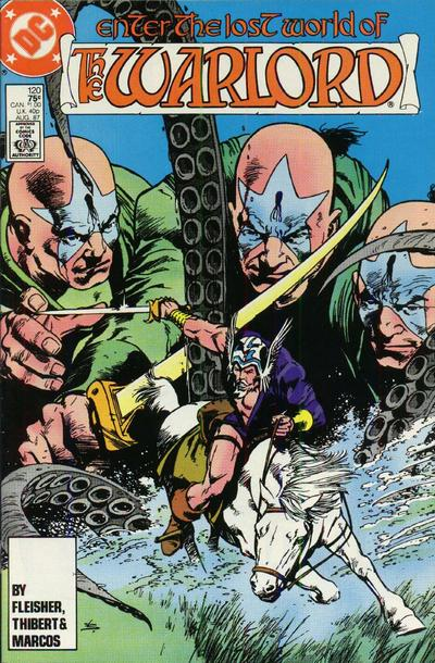 Cover for Warlord (DC, 1976 series) #120 [Direct Sales]