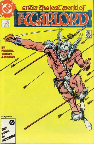 Cover for Warlord (DC, 1976 series) #121