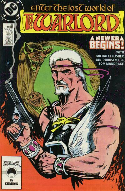 Cover for Warlord (DC, 1976 series) #123 [direct]
