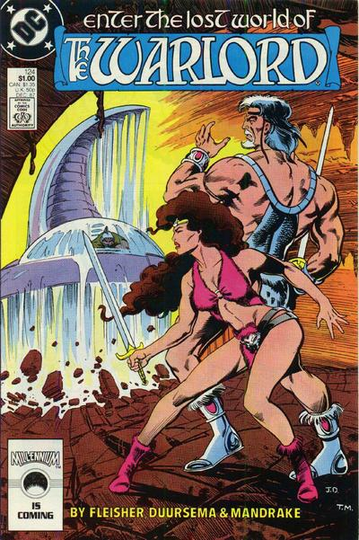Cover for Warlord (DC, 1976 series) #124 [Direct Sales]