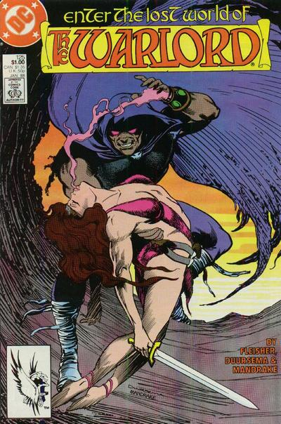 Cover for Warlord (DC, 1976 series) #125 [direct]