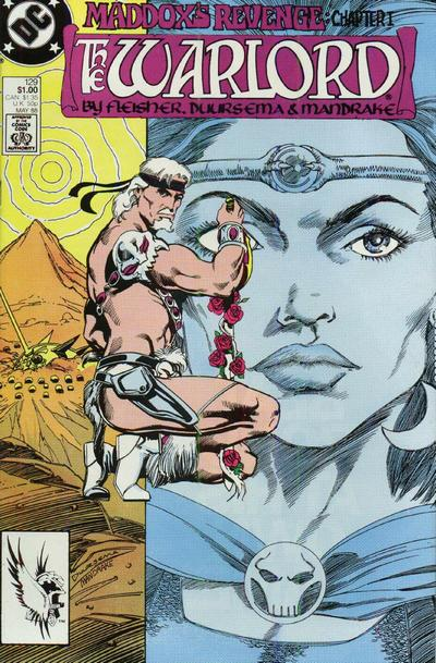Cover for Warlord (DC, 1976 series) #129