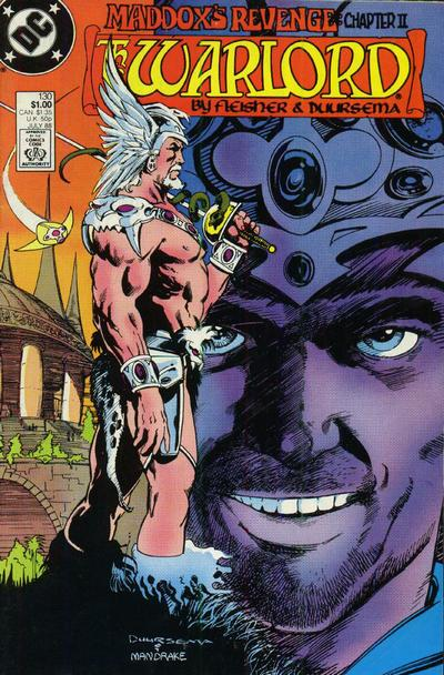 Cover for Warlord (DC, 1976 series) #130