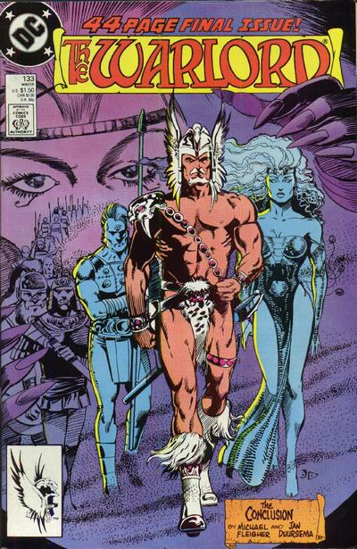 Cover for Warlord (DC, 1976 series) #133