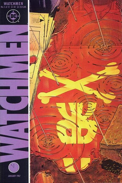 Cover for Watchmen (DC, 1986 series) #5