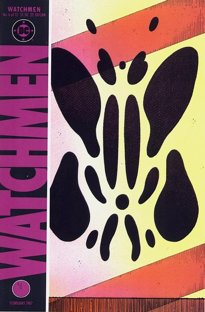 Cover for Watchmen (DC, 1986 series) #6
