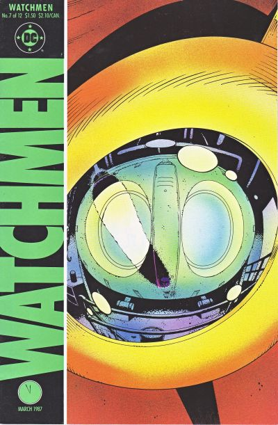 Cover for Watchmen (DC, 1986 series) #7