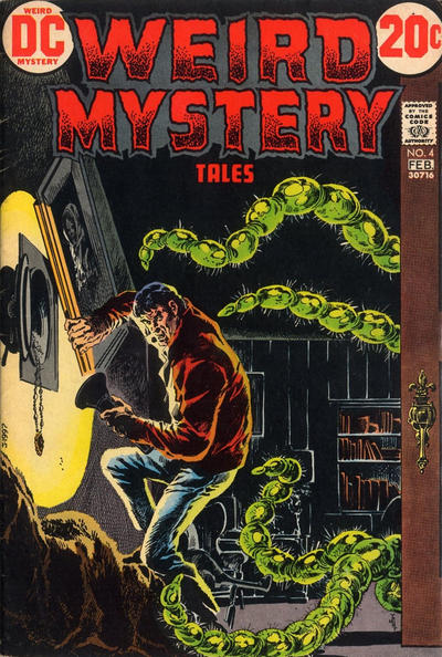 Cover for Weird Mystery Tales (DC, 1972 series) #4