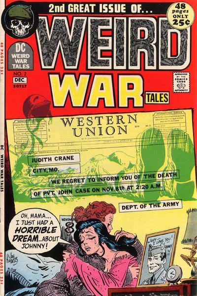 Cover for Weird War Tales (DC, 1971 series) #2