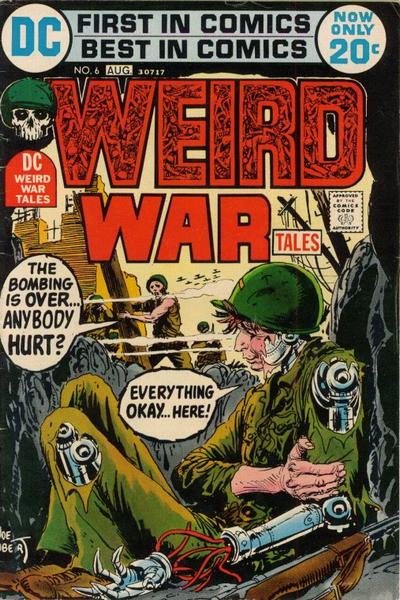 Cover for Weird War Tales (DC, 1971 series) #6
