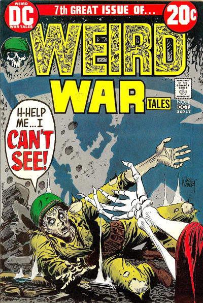 Cover for Weird War Tales (DC, 1971 series) #7