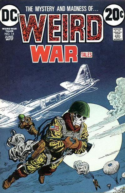 Cover for Weird War Tales (DC, 1971 series) #14