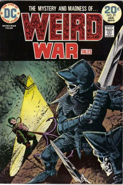 Cover for Weird War Tales (DC, 1971 series) #21