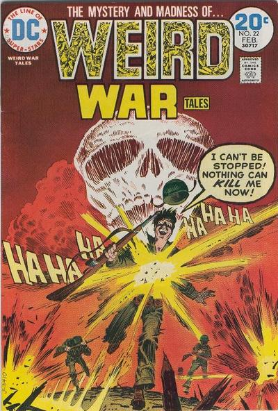 Cover for Weird War Tales (DC, 1971 series) #22