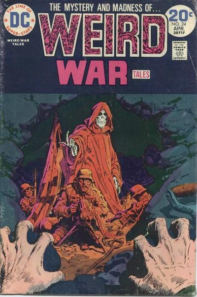 Cover for Weird War Tales (DC, 1971 series) #24