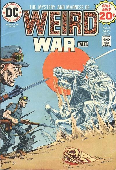 Cover for Weird War Tales (DC, 1971 series) #29