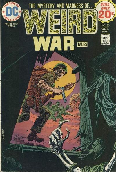 Cover for Weird War Tales (DC, 1971 series) #30