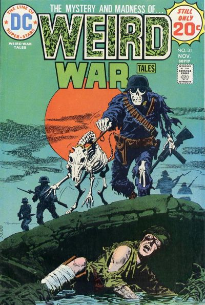 Cover for Weird War Tales (DC, 1971 series) #31
