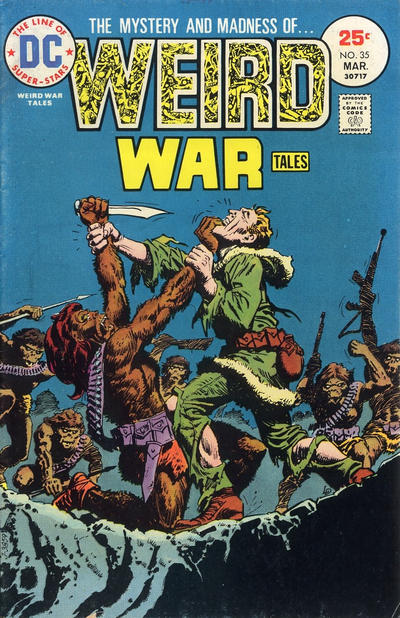 Cover for Weird War Tales (DC, 1971 series) #35