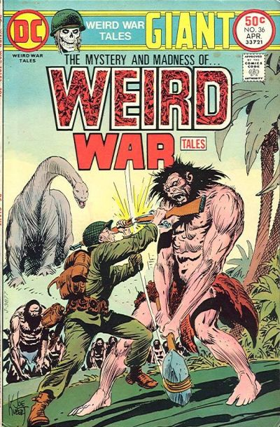 Cover for Weird War Tales (DC, 1971 series) #36