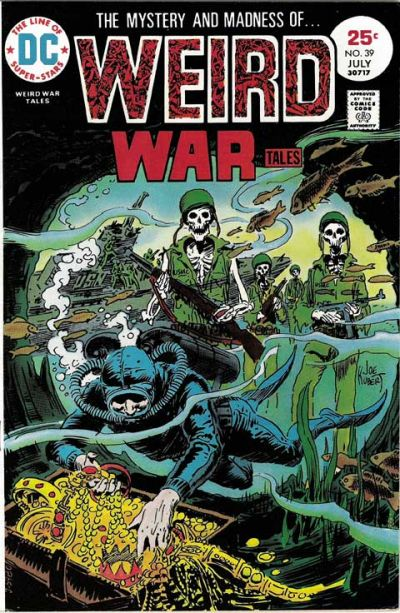 Cover for Weird War Tales (DC, 1971 series) #39
