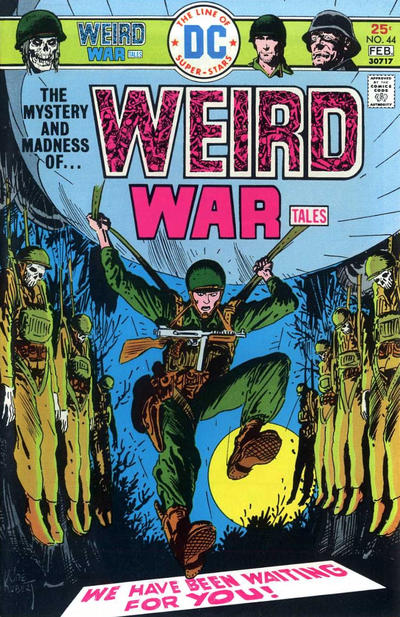 Cover for Weird War Tales (DC, 1971 series) #44