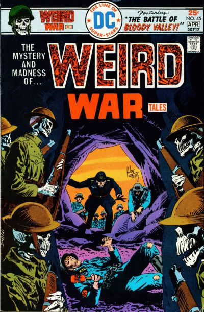 Cover for Weird War Tales (DC, 1971 series) #45