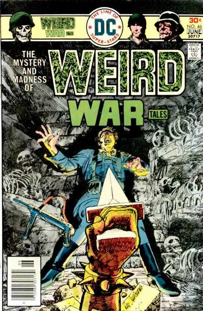 Cover for Weird War Tales (DC, 1971 series) #46
