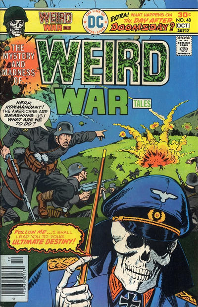 Cover for Weird War Tales (DC, 1971 series) #48