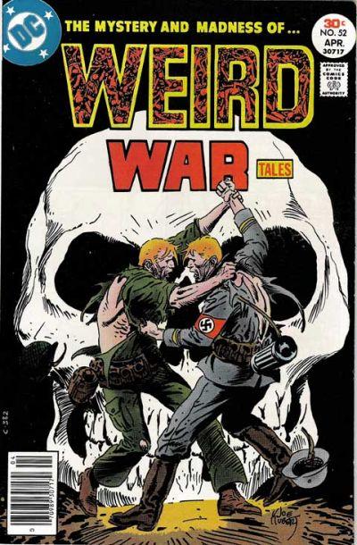 Cover for Weird War Tales (DC, 1971 series) #52