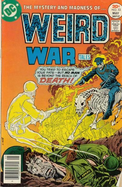 Cover for Weird War Tales (DC, 1971 series) #53