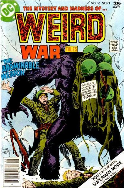 Cover for Weird War Tales (DC, 1971 series) #55