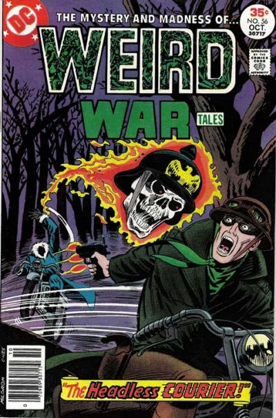 Cover for Weird War Tales (DC, 1971 series) #56