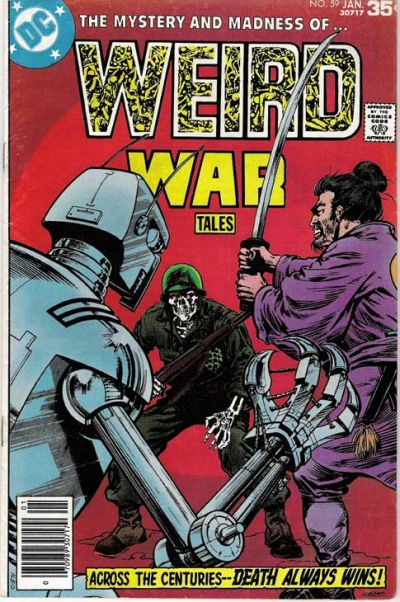 Cover for Weird War Tales (DC, 1971 series) #59