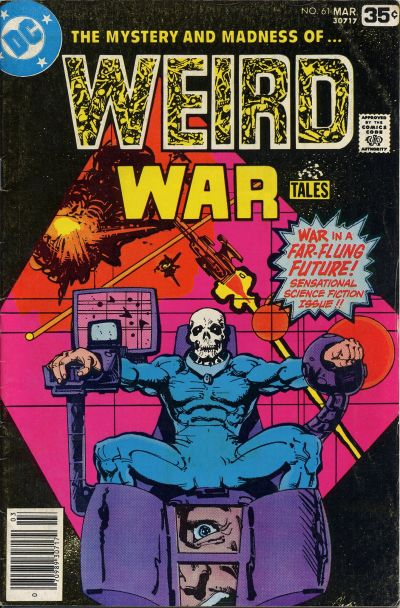 Cover for Weird War Tales (DC, 1971 series) #61
