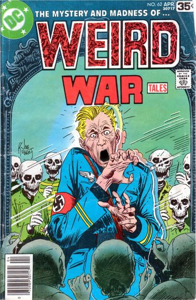 Cover for Weird War Tales (DC, 1971 series) #62