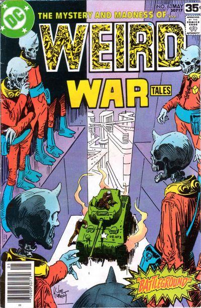 Cover for Weird War Tales (DC, 1971 series) #63