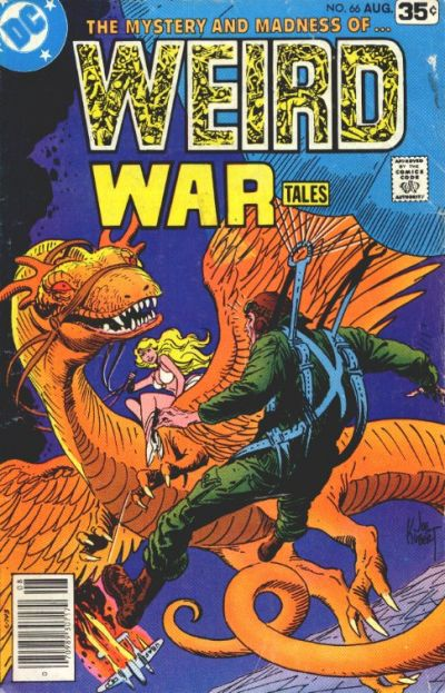 Cover for Weird War Tales (DC, 1971 series) #66