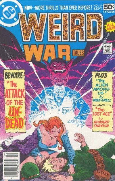 Cover for Weird War Tales (DC, 1971 series) #67