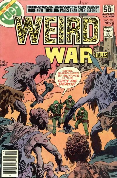 Cover for Weird War Tales (DC, 1971 series) #69