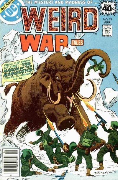Cover for Weird War Tales (DC, 1971 series) #74