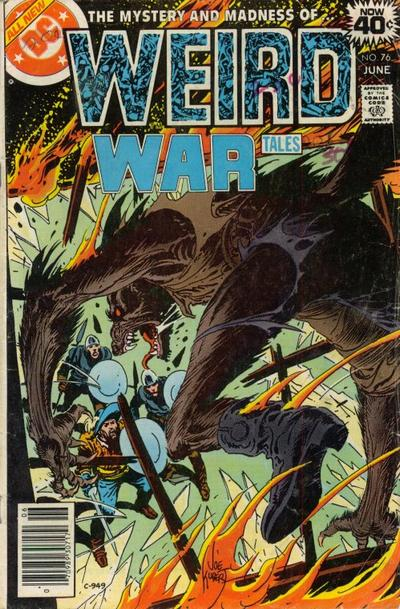 Cover for Weird War Tales (DC, 1971 series) #76