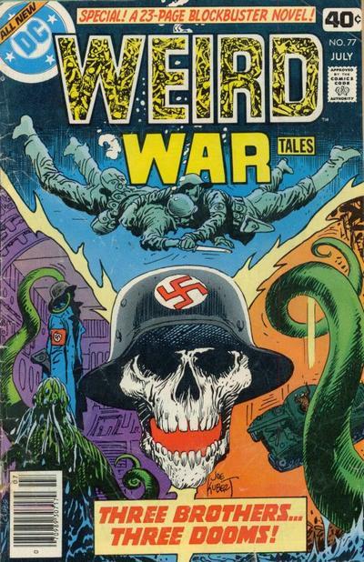 Cover for Weird War Tales (DC, 1971 series) #77