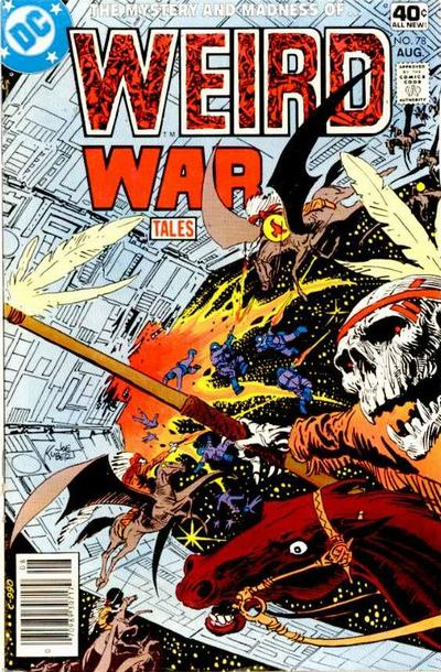 Cover for Weird War Tales (DC, 1971 series) #78