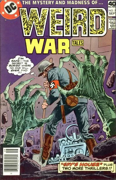 Cover for Weird War Tales (DC, 1971 series) #79