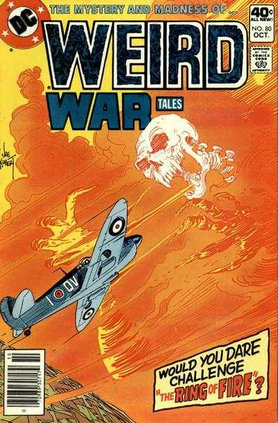 Cover for Weird War Tales (DC, 1971 series) #80
