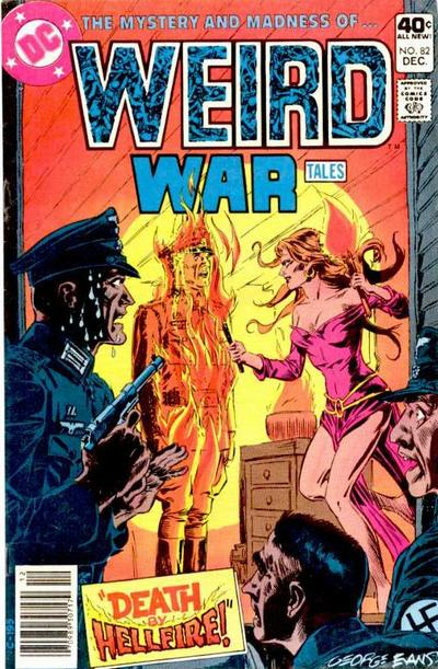 Cover for Weird War Tales (DC, 1971 series) #82