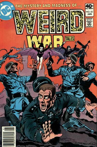 Cover for Weird War Tales (DC, 1971 series) #83